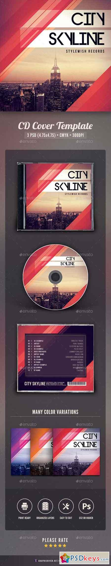 City Skyline CD Cover Artwork 17569265