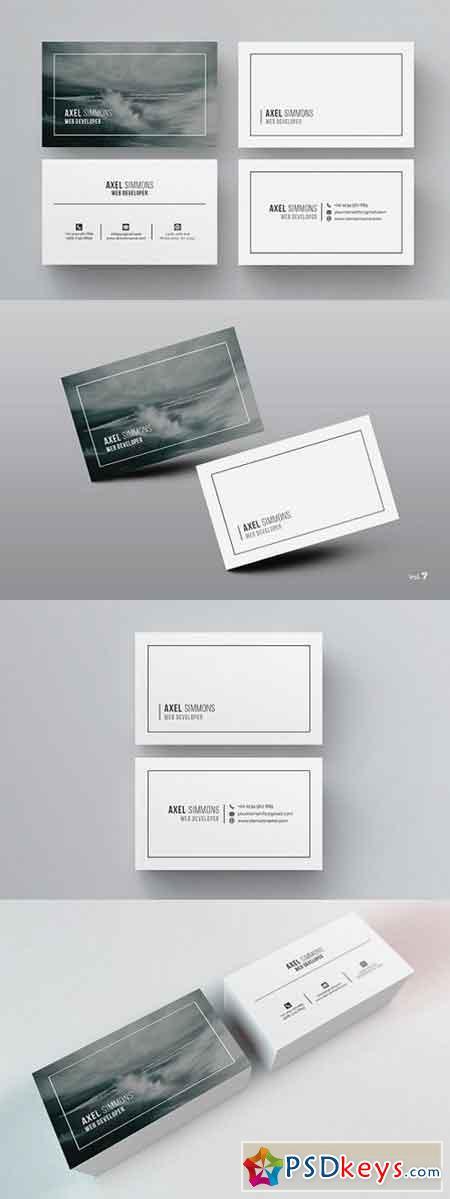 Modern & Clean Business Card 984244
