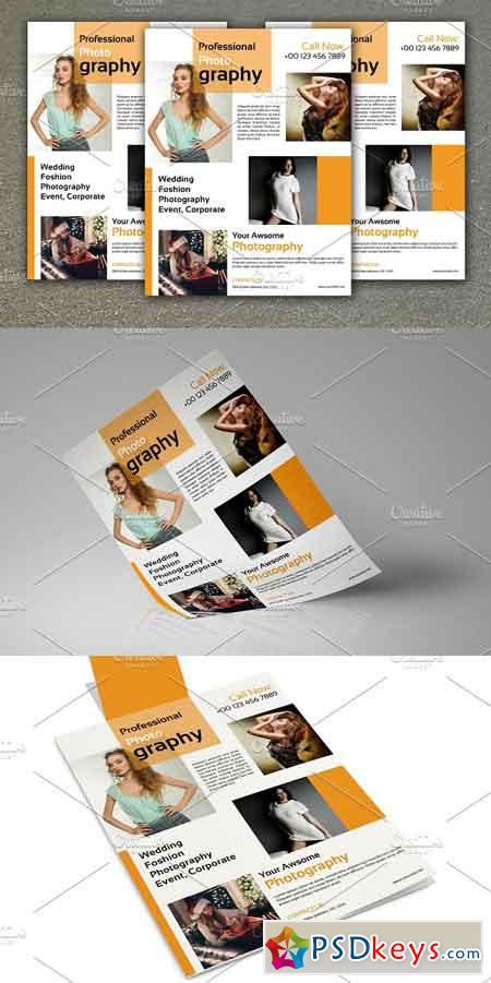 Photography Flyer Template-V462 1134636