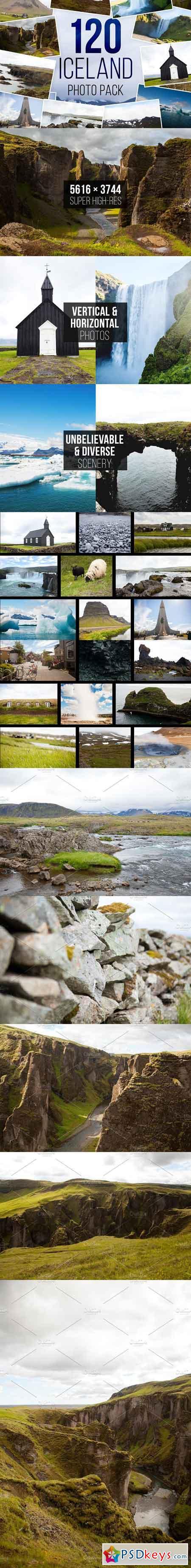 120 Iceland Photo Pack 1148409