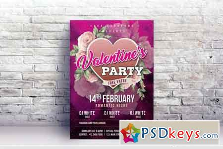 Valentines Day Flyer #04
