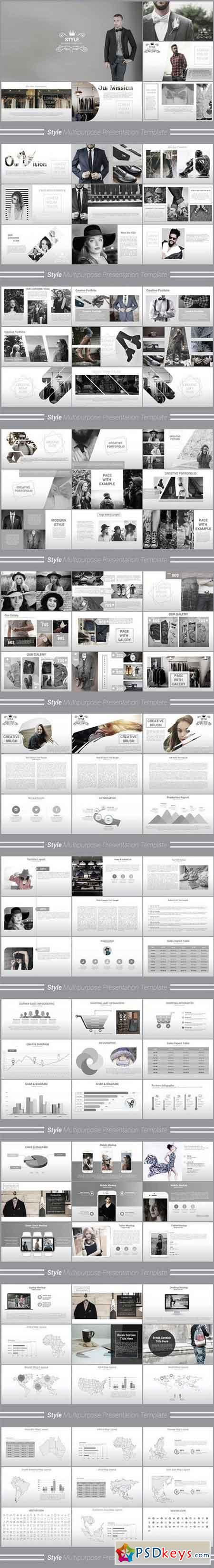 Style Multipurpose Keynote Template 1211945