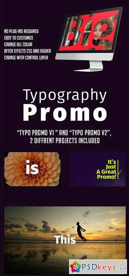 Typography Promo 19359800 - After Effects Projects