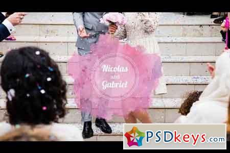 Watercolor Wedding Pack - After Effects Projects