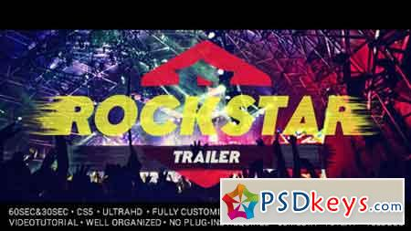 Rockstar Trailer 19348624 - After Effects Projects