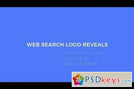 Web Search Logo Reveals - After Effects Projects