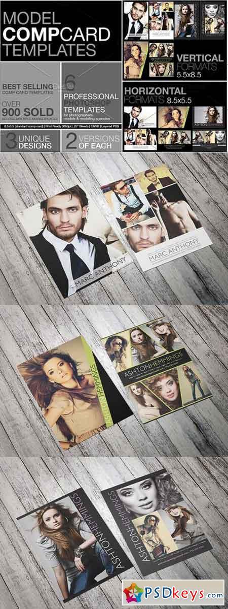 model comp card kit 1227966  u00bb free download photoshop