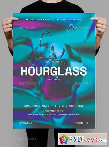 Hourglass Poster Flyer 19297409