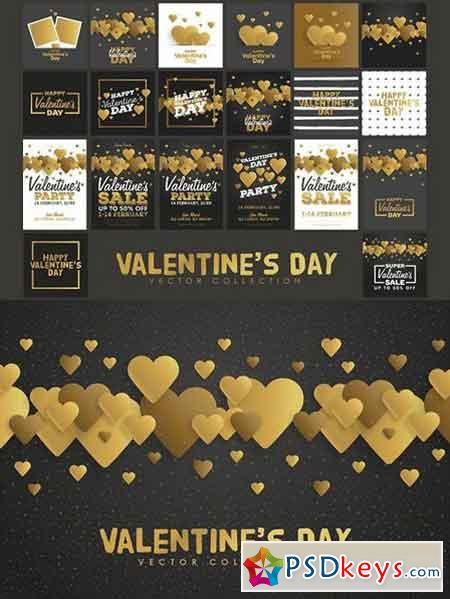 Valentine's Day Vector Collection 1221508