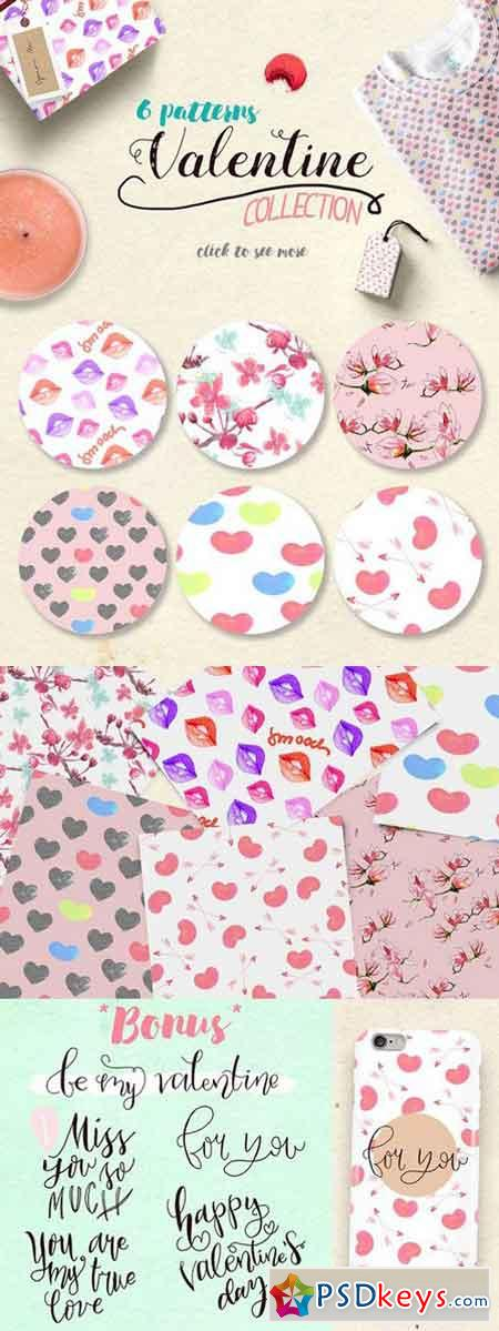 Valentine Pattern Collection 1214847