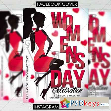 Womens Day Celebration - Premium Flyer Template