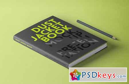 Psd Dust Jacket Book Mockup Vol 2