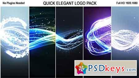Quick Elegant Logo Pack (5 in 1) 19300914 - After Effects Projects