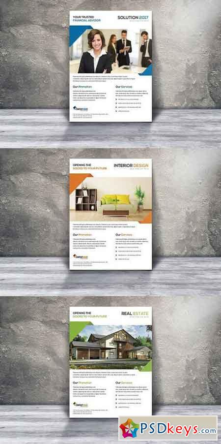 Multipurpose Flyer Ad Template 1106294