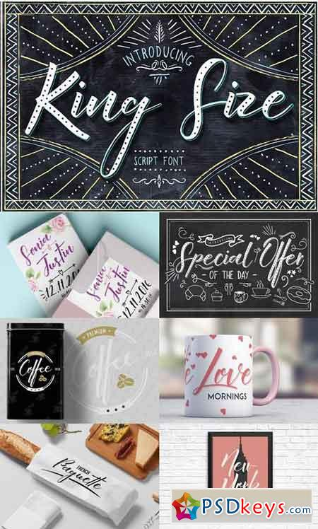 King Size Font 954478