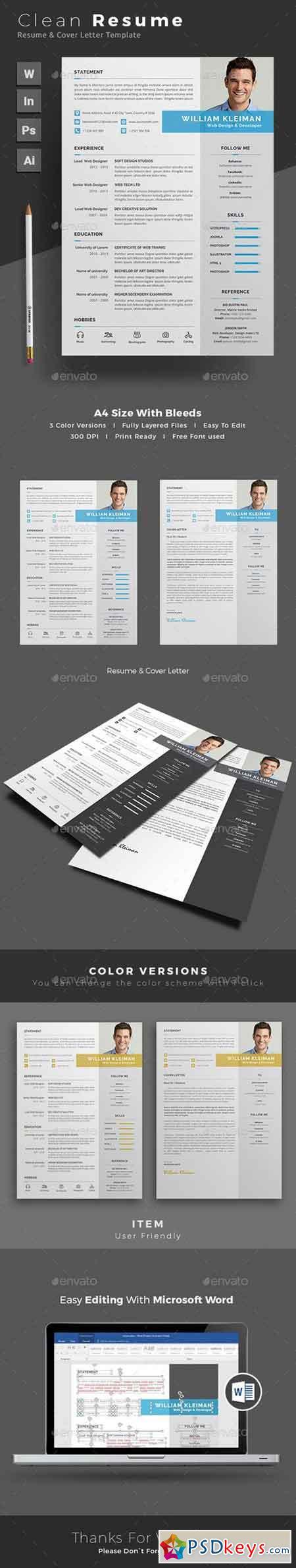 resume 19253324 free download photoshop vector stock image via