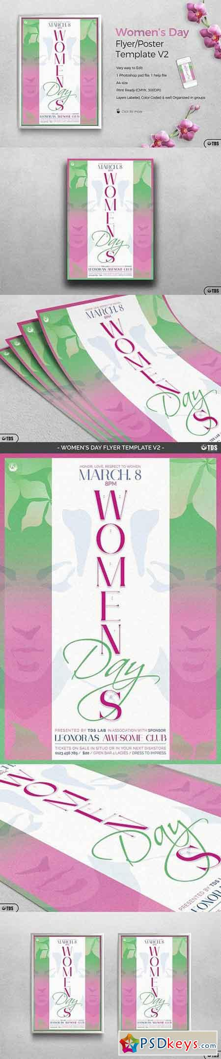 Womens Day Flyer Template V2 1235209