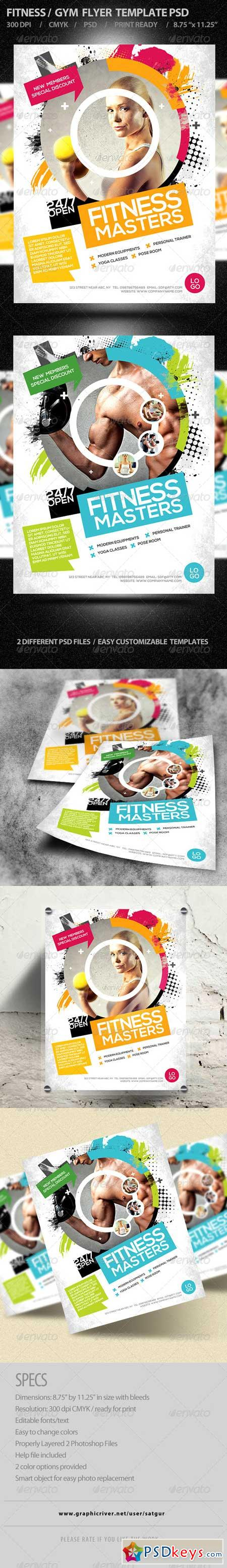Fitness Flyer Gym Flyer 8292110