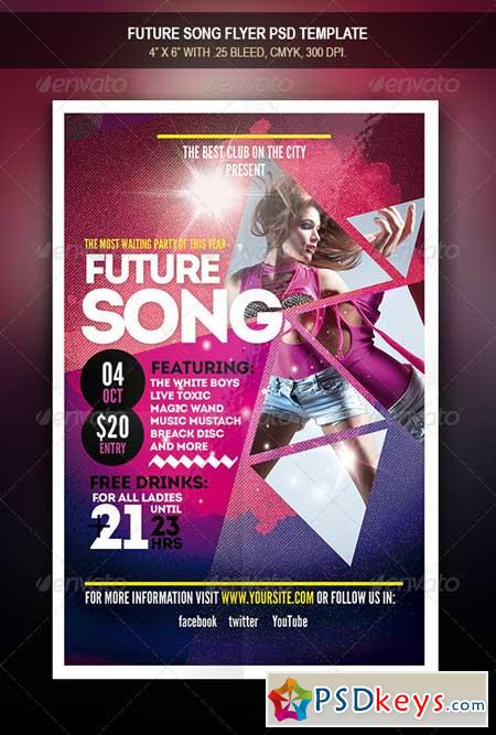 Future Song Flyer 7973913