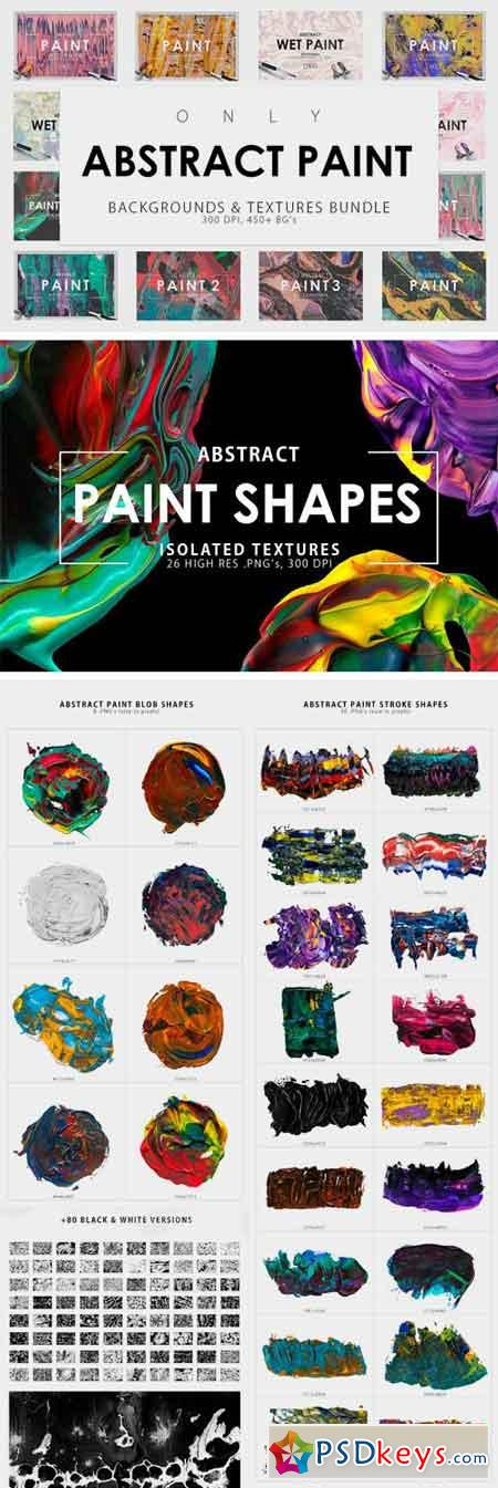 Only Paint Backgrounds Bundle 1166901