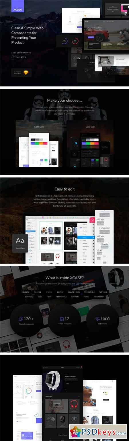 XCASE Web UI Kit 1187644