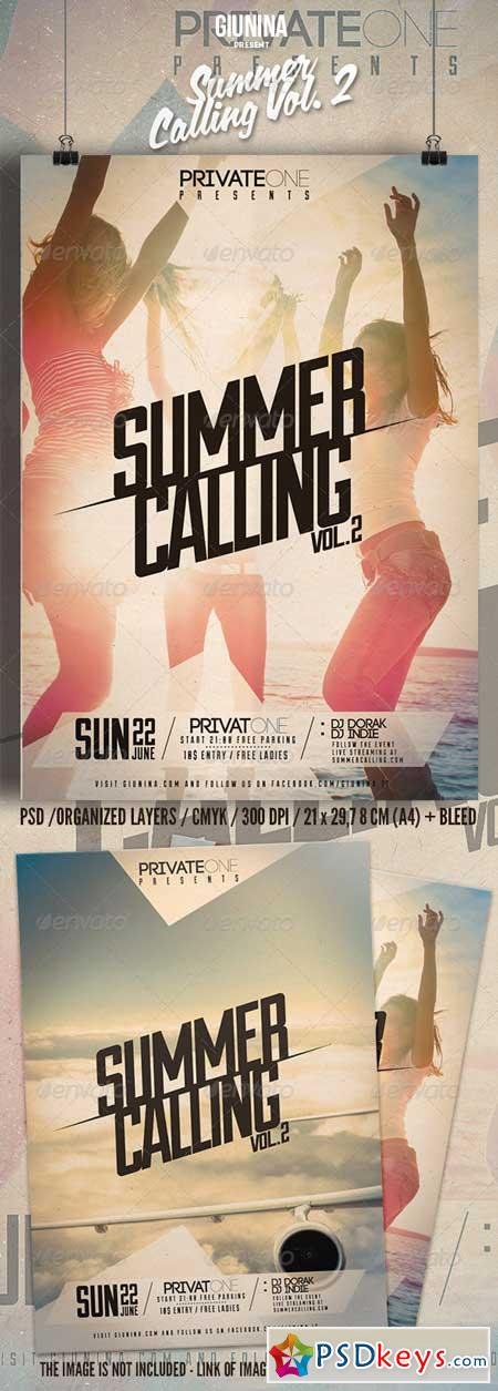 Summer Calling Vol. 2 Flyer Poster 7776918