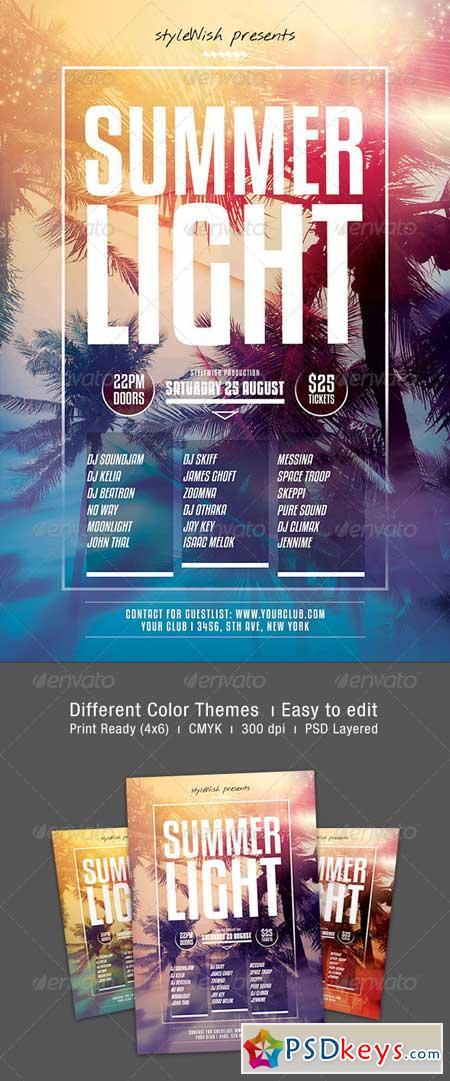Summer Light Flyer 8434724