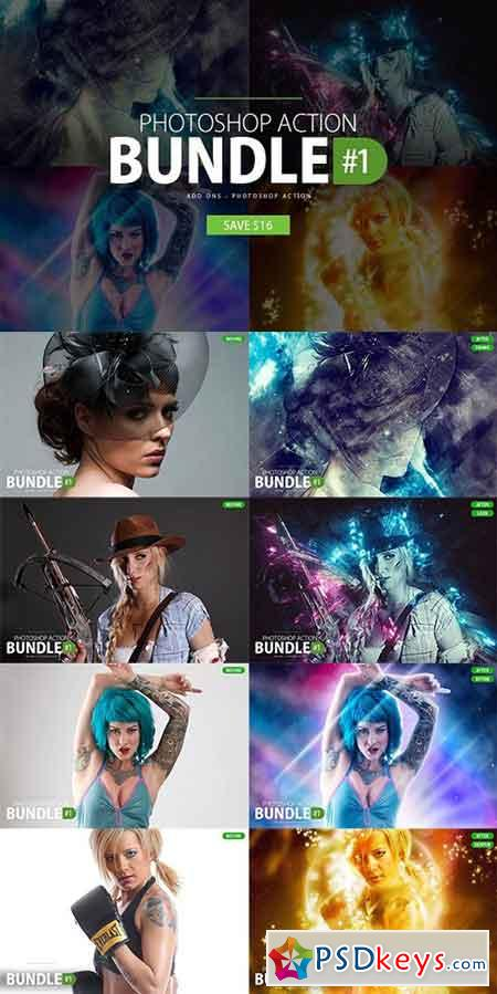 Photoshop Action Bundle #1 1161974