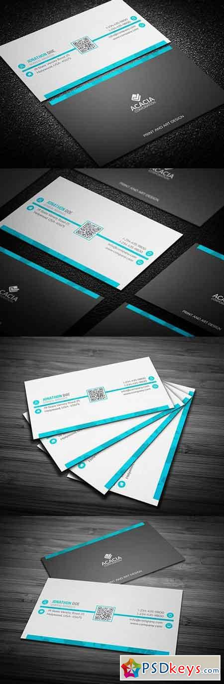 Professional Business Card 563314 » Free Download Photoshop Vector ...