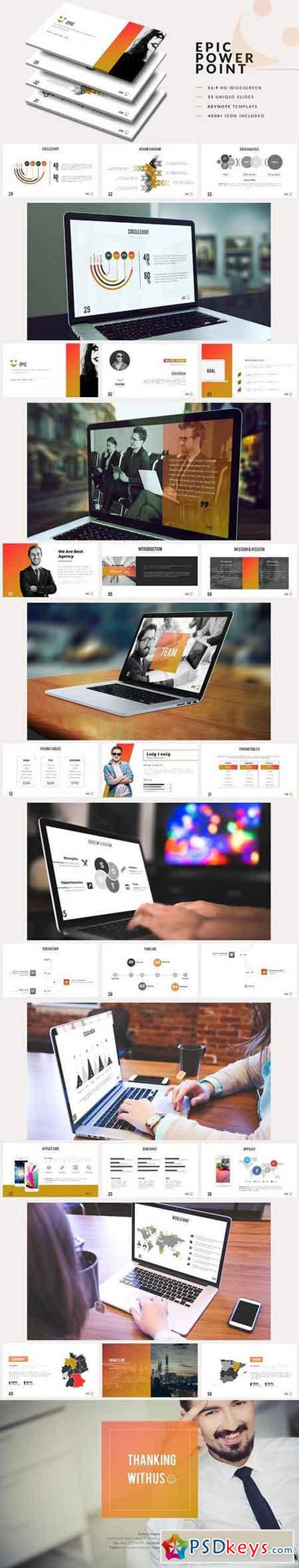 Epic Powerpoint Template 1237474