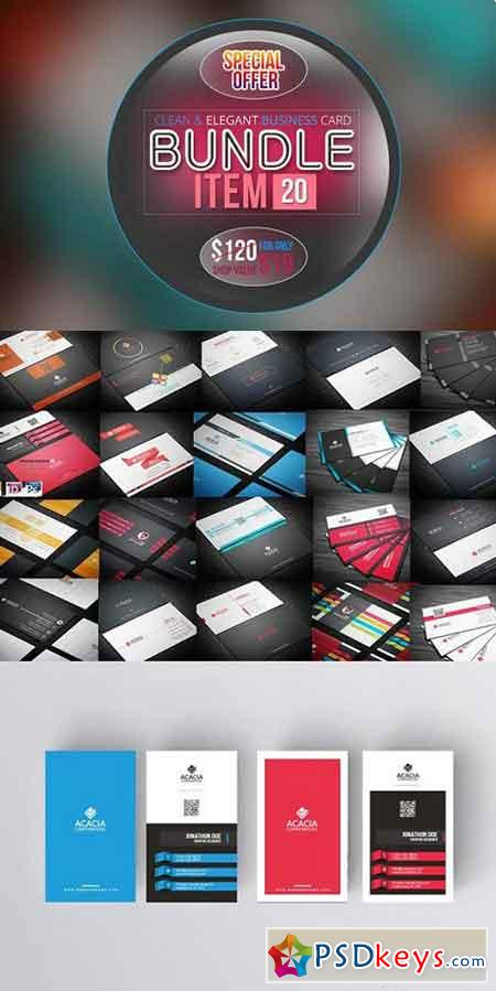 BUSINESS CARD BUNDLE 1227704