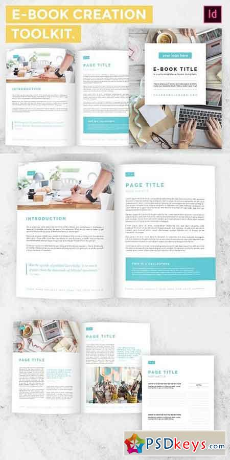 E-Book Creation Toolkit InDesign 1270779