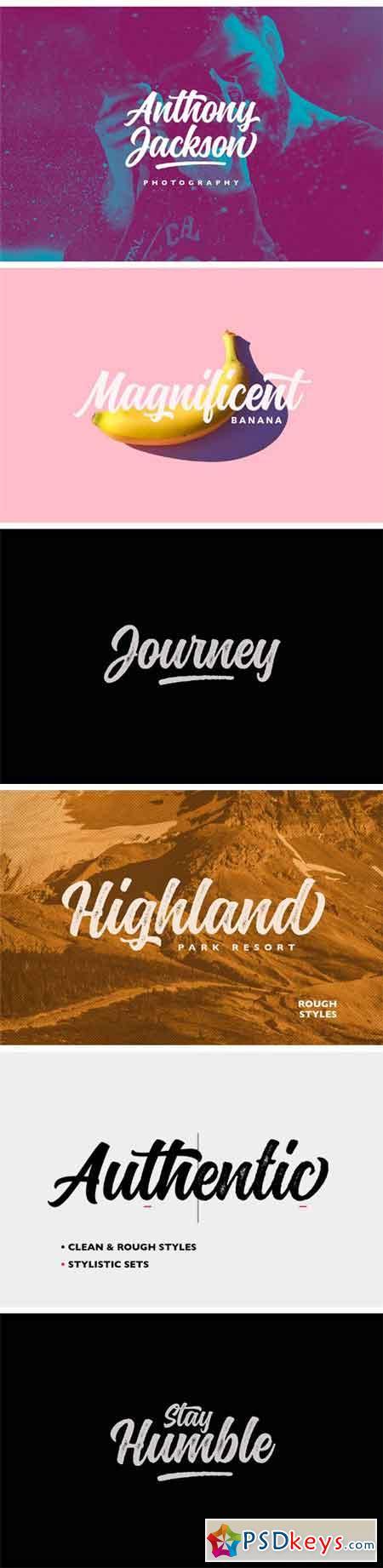 Montana Typeface  1256217