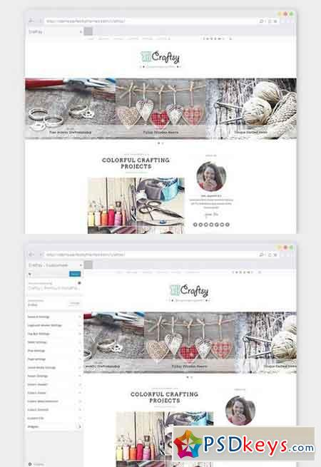 Crafting WordPress Theme Craftsy 826100