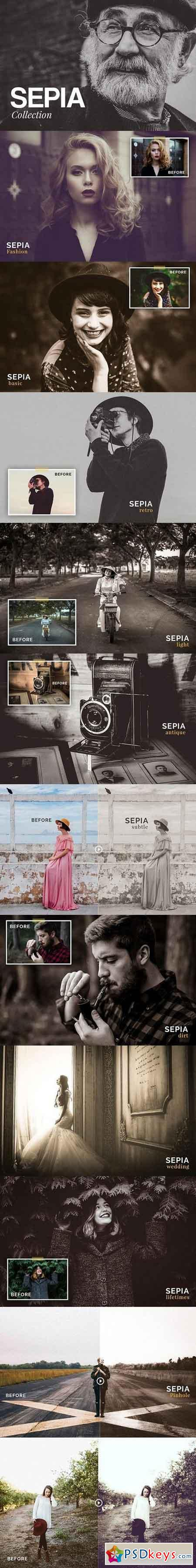 Sepia Collection - Lightroom Presets 1268389