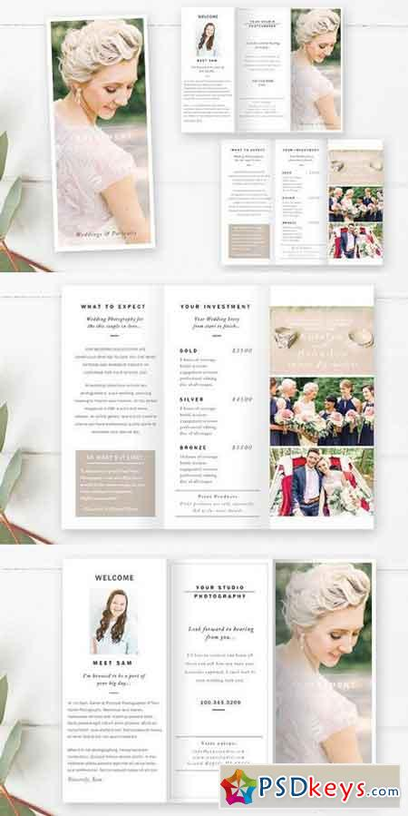 Wedding photography brochure 1270221 free download for Wedding photography brochure template