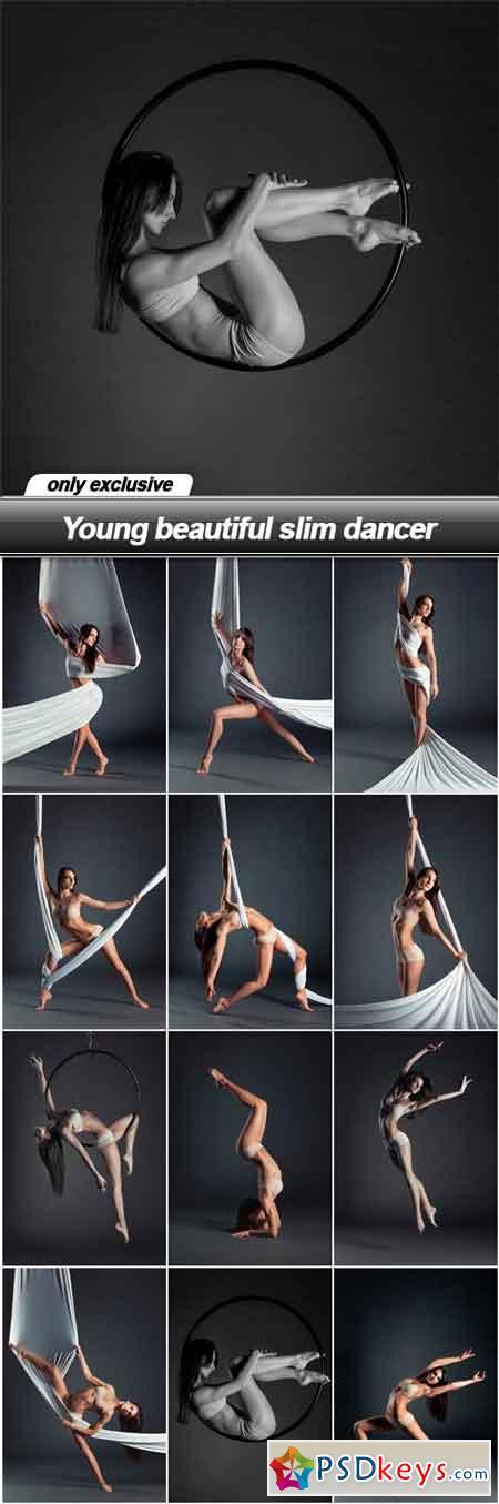 Young beautiful slim dancer - 12 UHQ JPEG