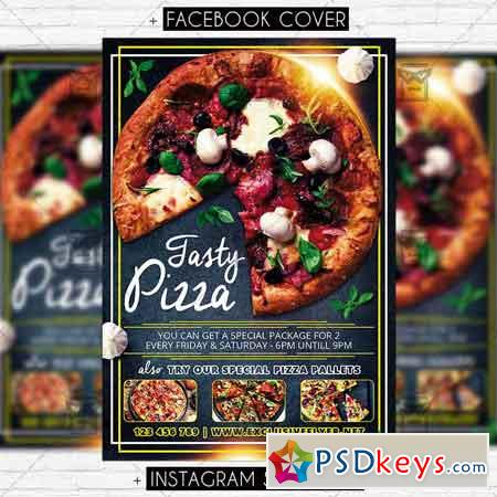 Pizza Promo – Premium PSD Flyer Template