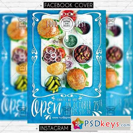 Food Festival – Premium PSD Flyer Template