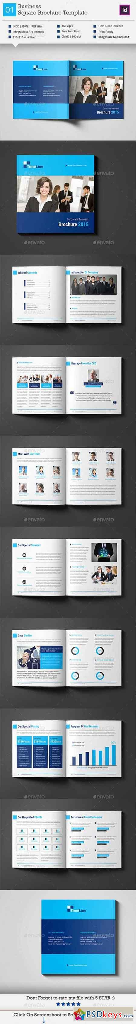 Business Square Brochure Template_V2 11251825