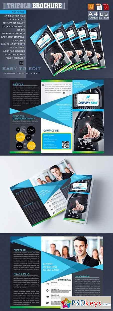 Trifold Brochure 1268515