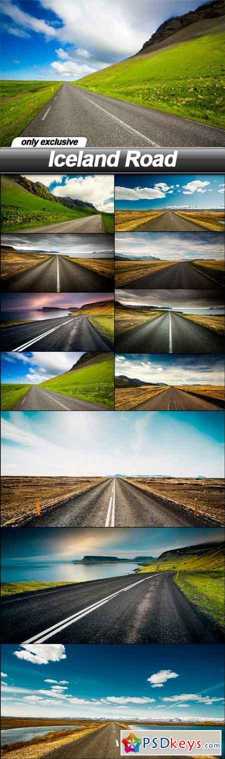Iceland Road - 11 UHQ JPEG