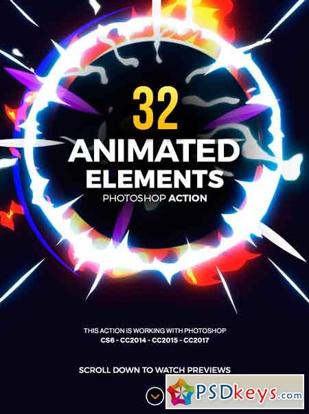 32 Animated Effects Action 19497071