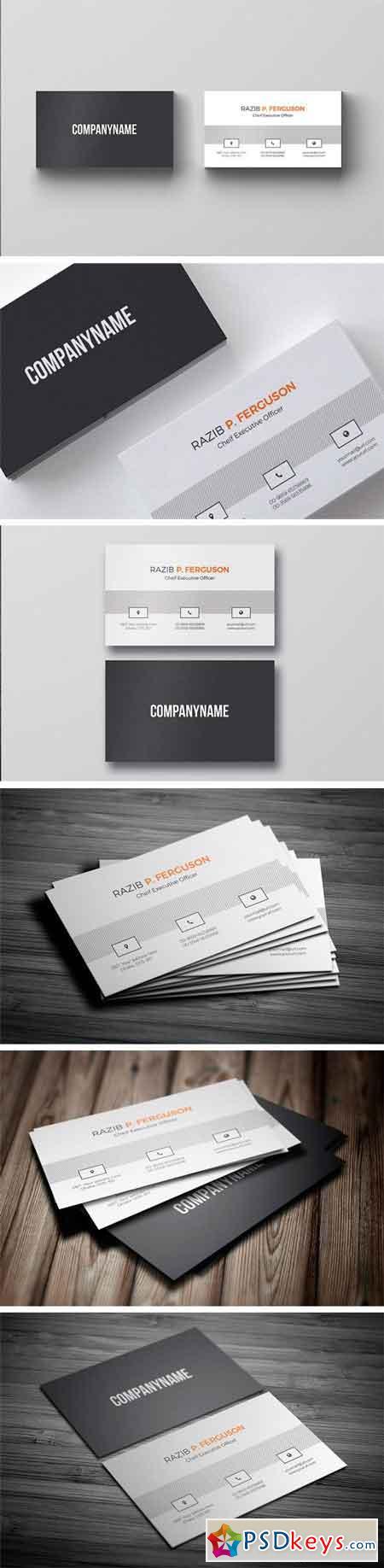 Clean Business Card 1257330