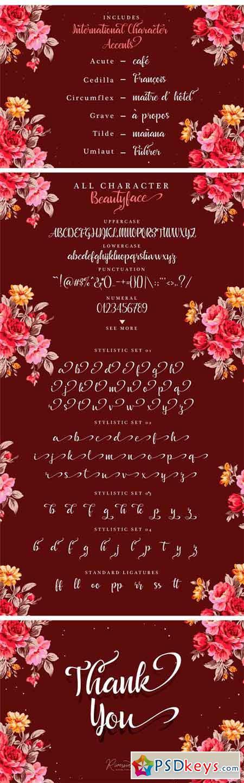 Beautyface Script 1275232