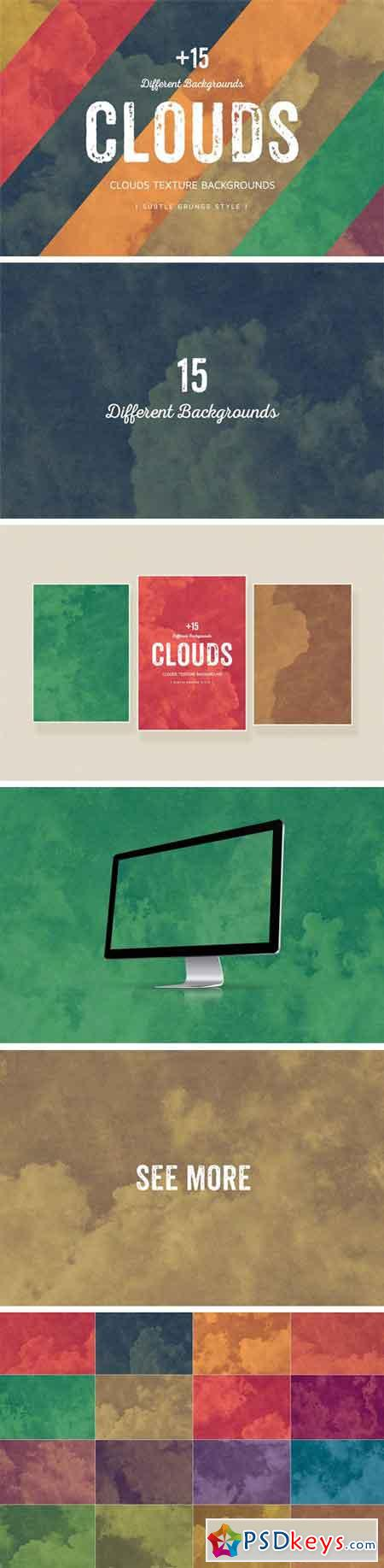 Clouds Texture Backgrounds 1276777