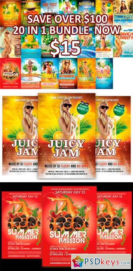 Summer Tropical Beach XXL Bundle 1253077