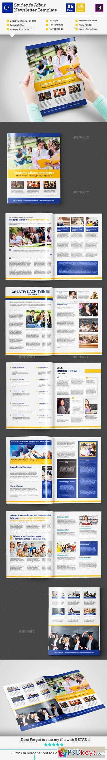 Student's Affair Newsletter Template_InDesign_V4 11031909