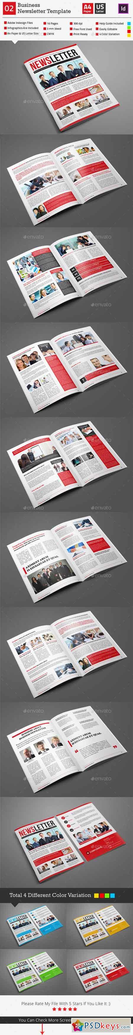 Newsletter Template 02 9724427