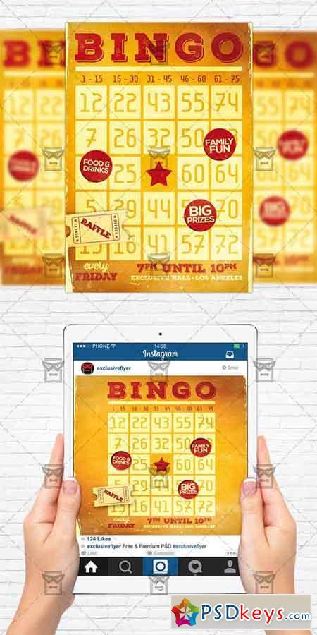 Bingo free download photoshop vector stock image via torrent bingo night flyer template instagram size flyer saigontimesfo